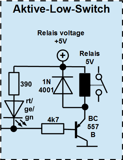 AVR application IR switch